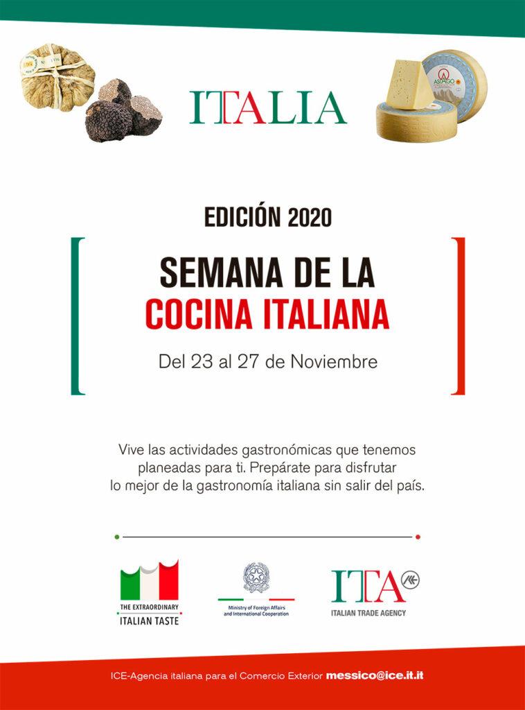 Semana de la cocina italiana 2020
